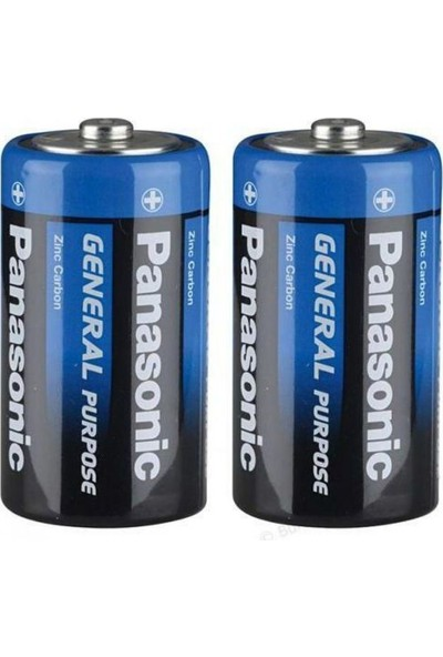 Panasonic 10'lu Özel D Büyük Boy Pil Paketi(10 D)