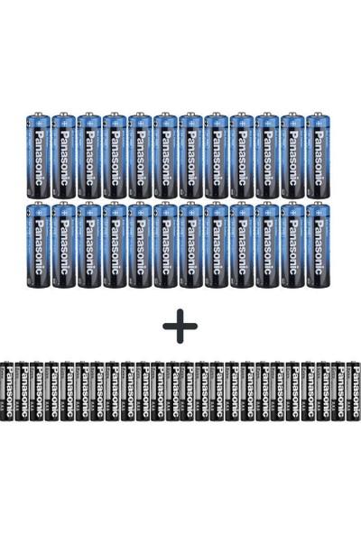 Panasonic 48'li Özel Pil Paketi(24 Aa+24 Aaa)