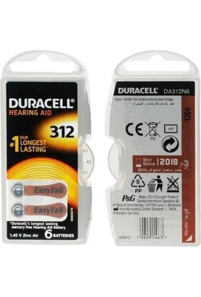 Duracell Activair 312 Numara 60'lı Özel Kulaklık Pili Paketi ( 60 Adet )