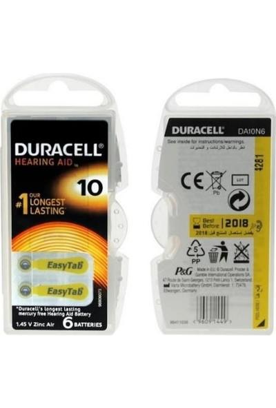 Duracell Activair 10 Numara 60'lı Özel Kulaklık Pili Paketi ( 60 Adet )
