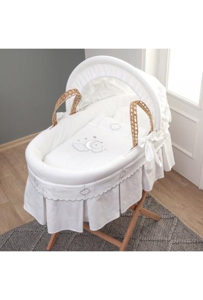Funna Baby Hasır Sepet Seti Luna Chic / kod:0515