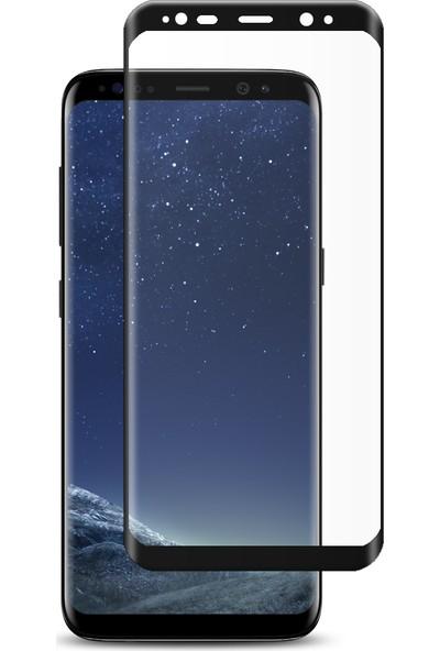 Engo Samsung Galaxy S8 Ekran Koruyucu 6D Campet Flexible Yeni Nesil Tam Kaplama 9h Temperli Film