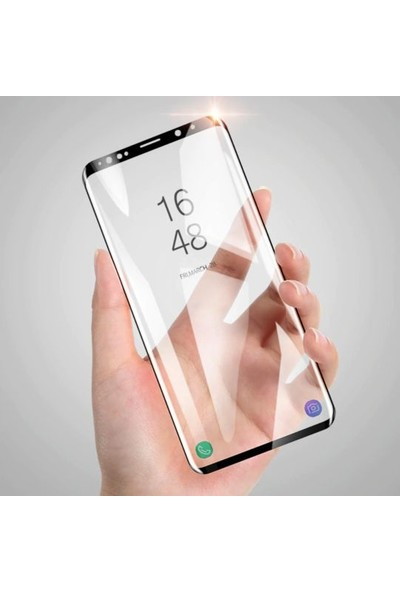Engo Samsung Galaxy Note 8 Ekran Koruyucu 6D Campet Flexible Yeni Nesil Tam Kaplama 9h Temperli Film