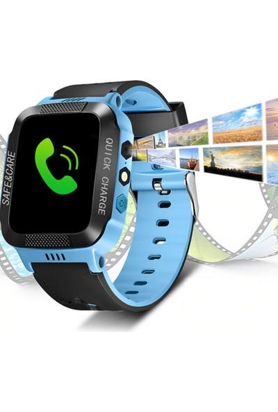 Eatech Safe & Care Universal Çocuk Akıllı Saat - Mavi