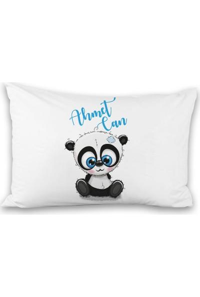 İncili Bebek Pandacık Tasarımlı Yastık