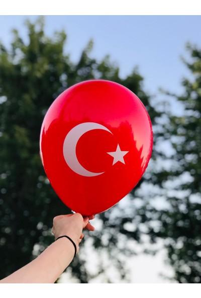 Yck Ay Yıldız Baskılı Balon