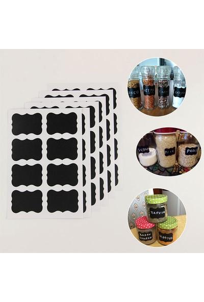 Htc Mutfak Kavanoz Sticker Etiketi 36 Adet