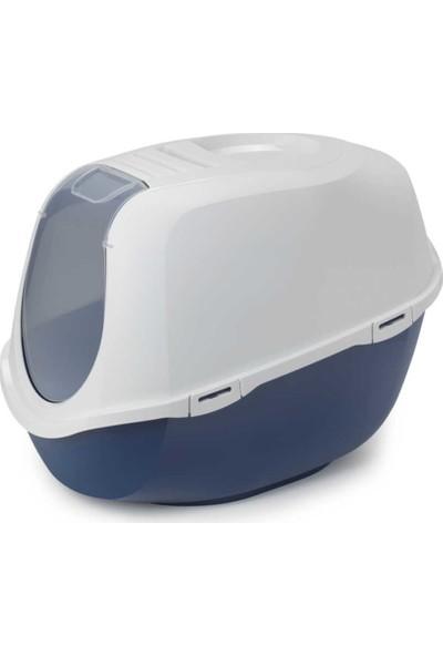 Moderna Mega Smart Kedi Tuvalet Kabı 46 x 55 x 49 cm Lacivert
