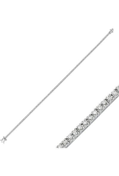Aypa Mücevher Pırlantalı Suyolu Bileklik