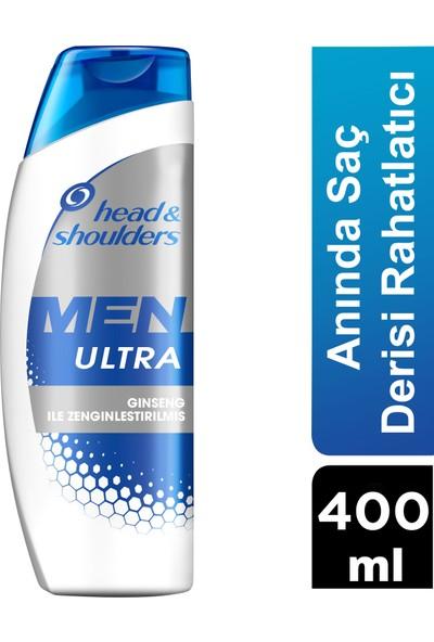 Head & Shoulders Men Ultra 400 ml Anında Saç Derisi Rahatlatıcı Erkeklere Özel Şampuan