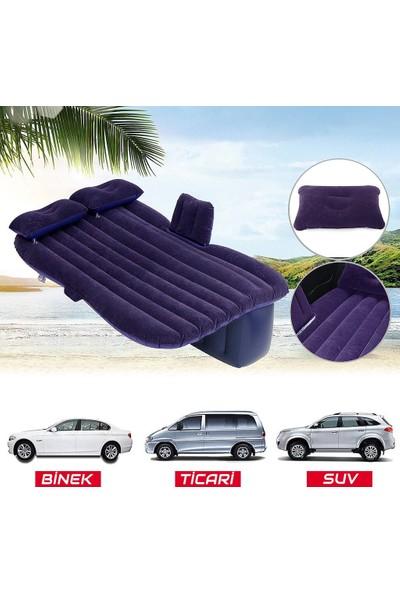 ByLizard Araç İçi Şişme Yatak Araba Yatağı + Şişirme Pompası