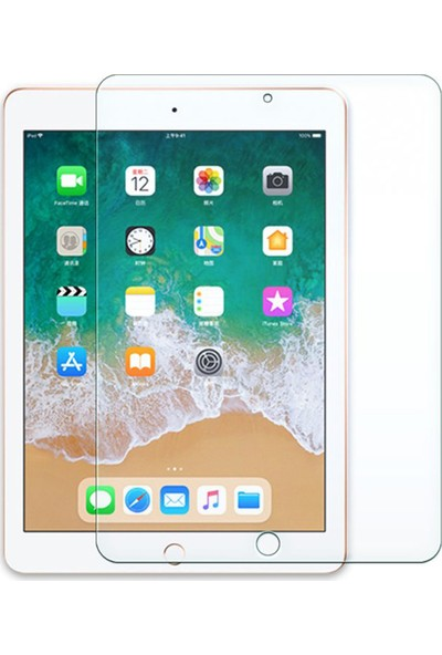 "Microcase Apple iPad Air 3 10.5"" Retina Tablet MV0Q2TU/A Tempered Glass Cam Koruma"