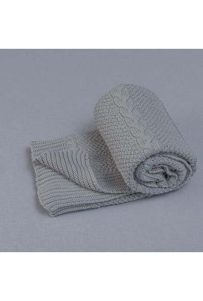 Funna Baby - Capelli Battaniye 75 x 110 cm Gri / kod: 9480