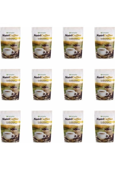 Farmasi Nutriplus Nutricoffee-Hindiba Kahve 12 li Paket