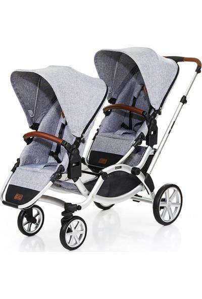 Abc Design Zoom İkiz Bebek Arabası 2019 Model