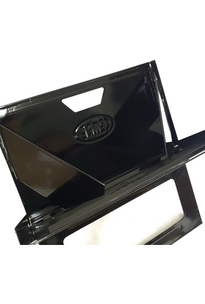 Katlanır Mangal Cemre C14 Emaye Çanta Mangal Laptop Mangal