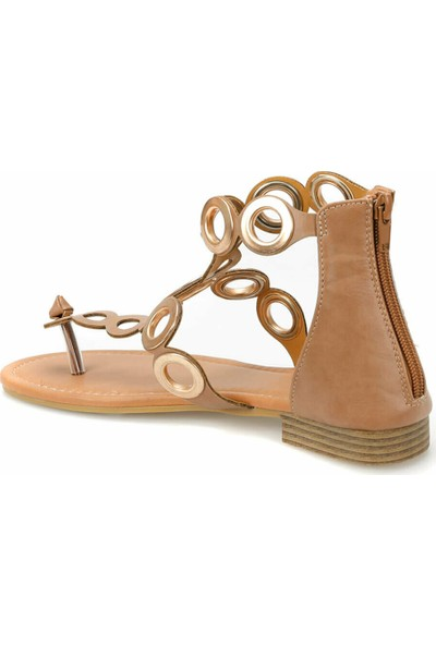 Butigo 19S-430 Kahverengi Kadın Sandalet