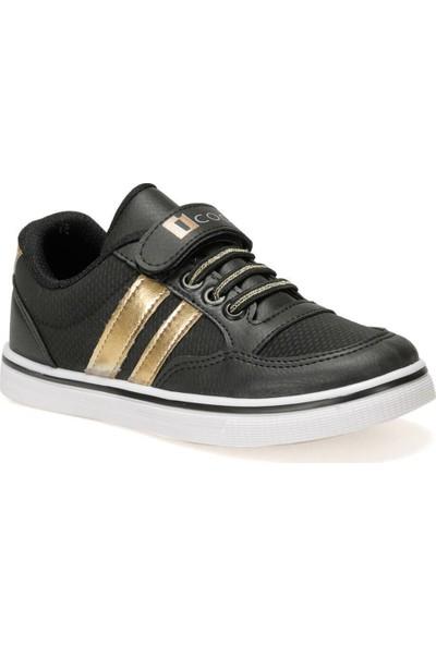 I Cool Talu.2 Siyah Kız Çocuk Sneaker Ayakkabı