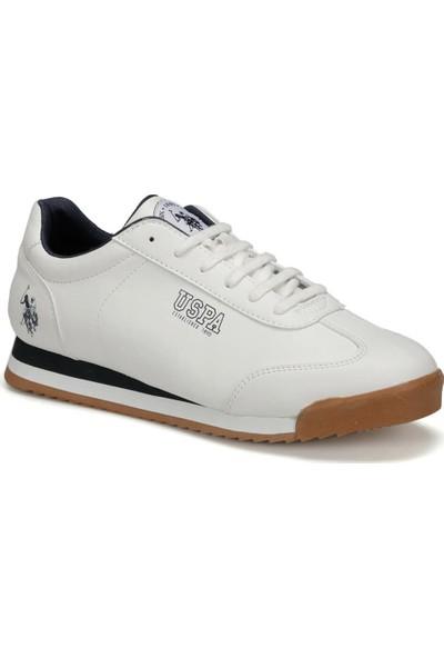 U.S. Polo Assn. Deep 9Pr Beyaz Erkek Sneaker Ayakkabı