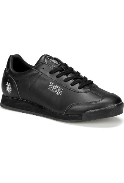 U.S. Polo Assn. Deep 9Pr Siyah Erkek Ayakkabı