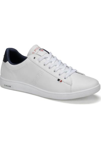 U.S.Polo Assn. Beyaz Erkek Günlük Ayakkabı Spor 100417859 9F Franco 9Pr Beyaz