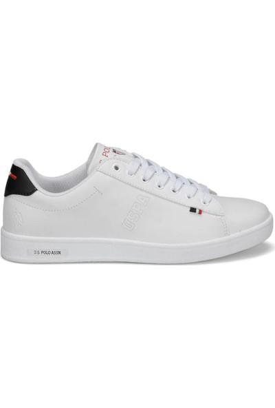 U.S. Polo Assn. Franco 9Pr Beyaz Kadın Sneaker Ayakkabı