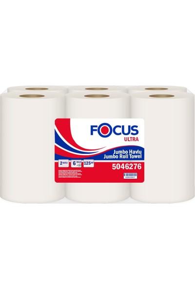 Focus Ultra Fotoselli Havlu Mavi 20.7 cm 125 mt 6'lı Koli