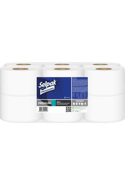 Selpak Professional Içten Çekmeli Tuvalet Kağıdı Koli Içi 12 Rulo 120 mt