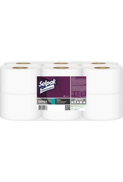 Selpak Professional Extra Jumbo Tuvalet Kağıdı 150 mt 12'li Paket