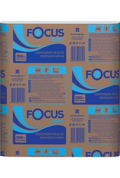 Focus Extra Dispenser Peçete 350 Yaprak Koli Içi 12 Paket