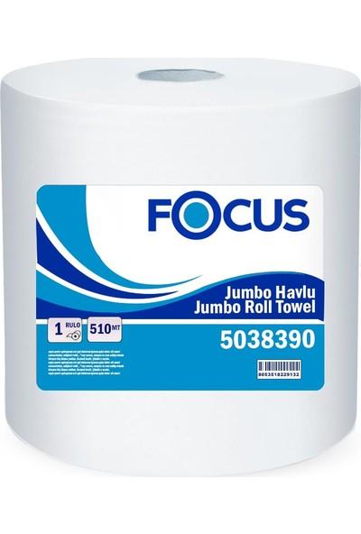 Focus Endüstriel Jumbo Havlu Gofrajlı 510 mt Koli Içi 1 Adet
