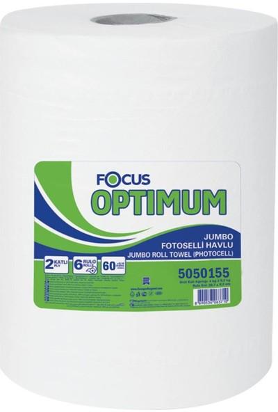 Focus Optimum 21 cm Fotoselli Havlu 60 mt Koli Içi 6 Paket
