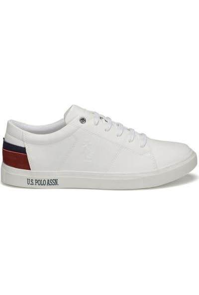 U.S. Polo Assn. Scott Wt 9Pr Beyaz Erkek Ayakkabı