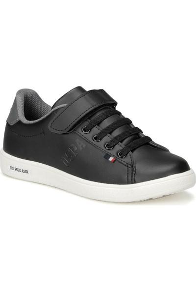 U.S. Polo Assn. Franco 9Pr Siyah Erkek Çocuk Sneaker Ayakkabı