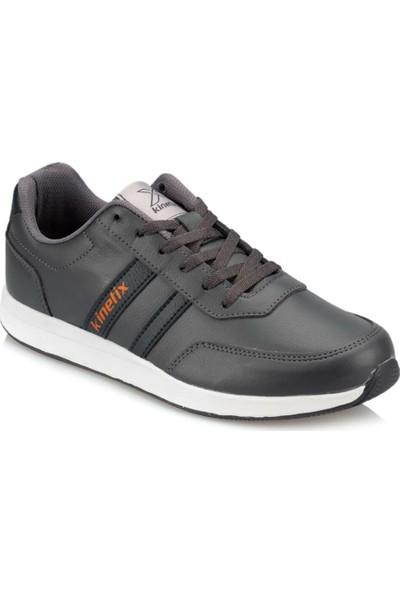 Kinetix Reeds Pu M 9Pr Koyu Gri Erkek Sneaker Ayakkabı