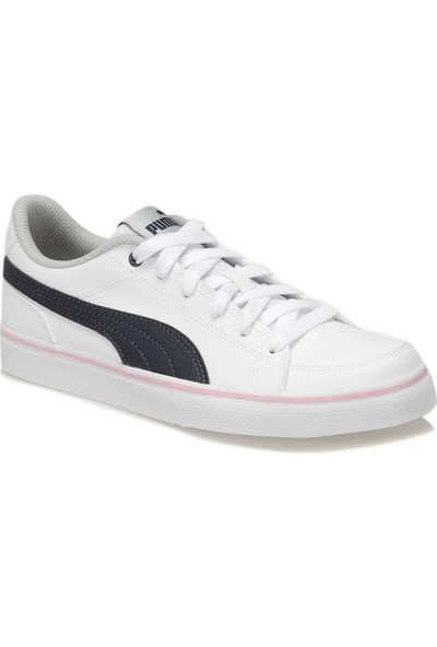 Puma Court Poınt Vulc V2 Jr Beyaz Erkek Çocuk Sneaker Ayakkabı