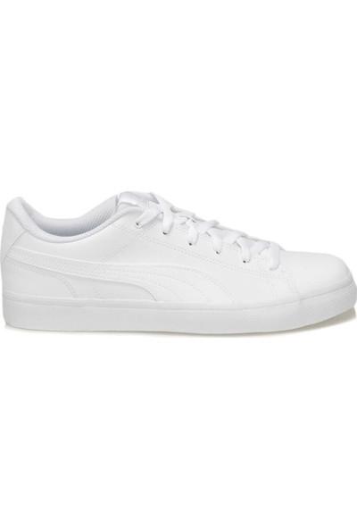 Puma Court Poınt Vulc V2 Beyaz Erkek Sneaker Ayakkabı