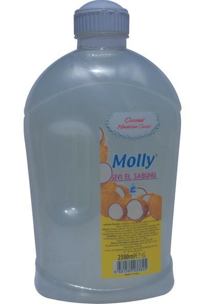 Molly Sıvı El Sabunu 2500 ml Hindistan Cevizi