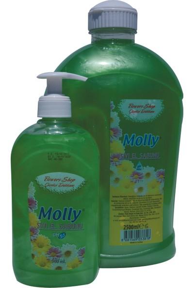 Molly Sıvı El Sabunu Çiçekçi Dükkanı 2500 ml+500 ml Ikili Paket