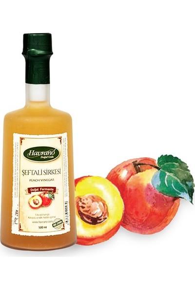 Havrano Doğal Fermente Şeftali Sirkesi 500 ml
