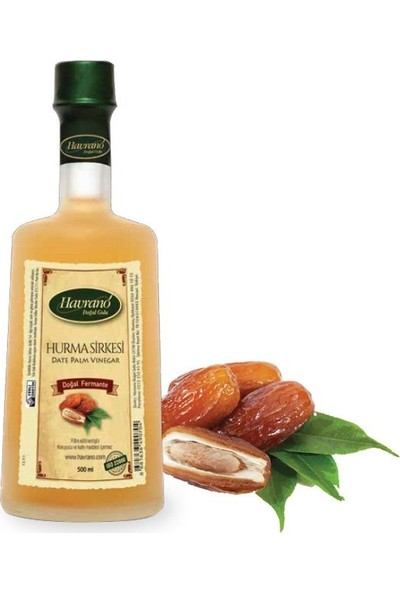 Havrano Doğal Fermente Hurma Sirkesi 500 ml