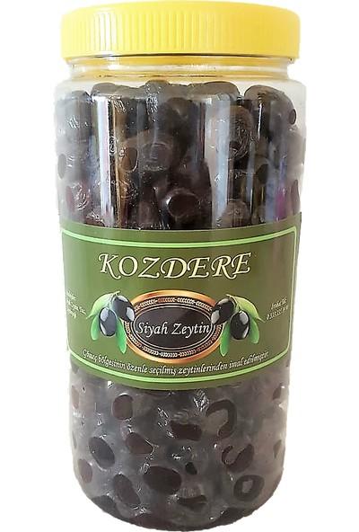 Kozdere Gemlik Tipi Siyah Zeytin Doğal Fermente 1 kg