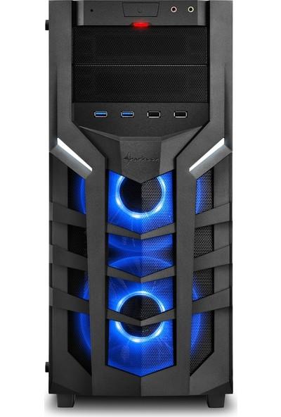 Sharkoon DG7000-G-RGB MidTower Bilgisayar Kasası