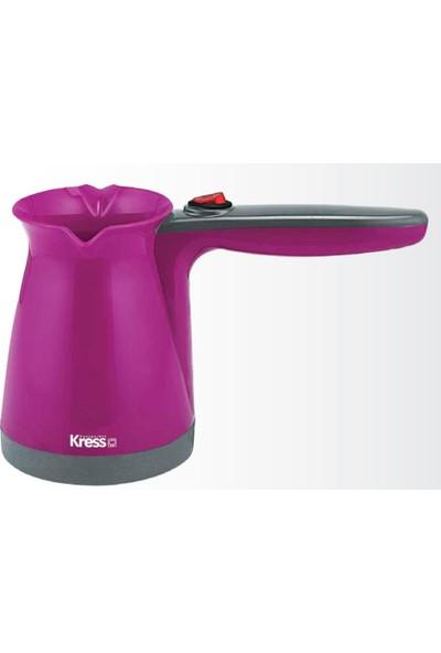Kress KKC-103 Köpüklü Eko Plastik Elektrikli Cezve