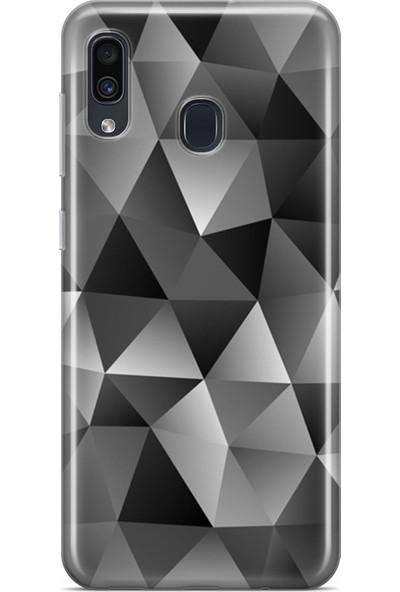 Melefoni Samsung Galaxy A40 Kılıf Triangle Serisi Mckenna
