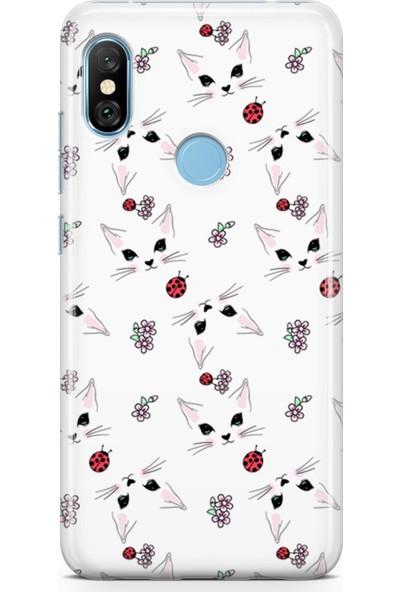 Melefoni Xiaomi Redmi Note 6 Pro Kılıf Kitty Serisi Margaret
