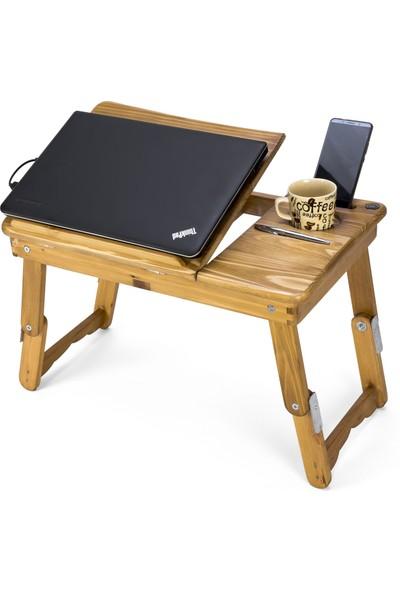 Ahşap Ustası Laptop Sehpası