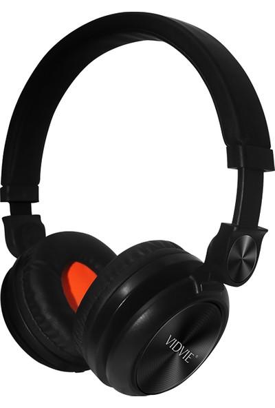 Vidvie HS617 Kulak Üstü Mikrofonlu Kulaklık - Siyah