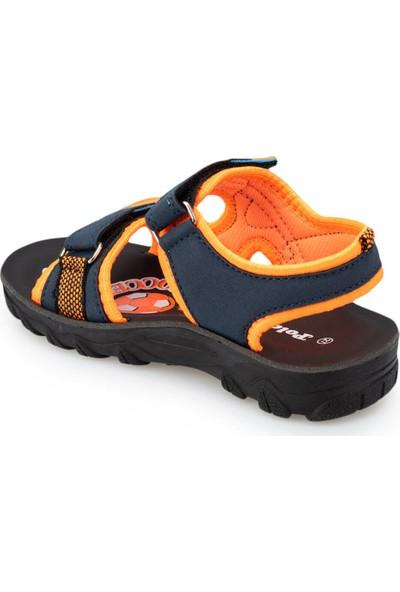 Polaris 91.511427.P Turuncu Erkek Çocuk Topuksuz Sandalet