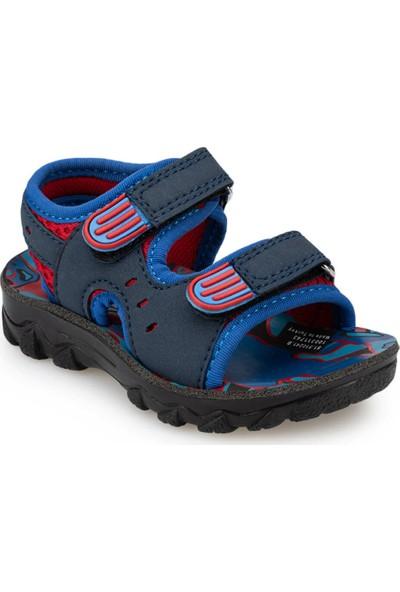 Polaris 91.510241.B Lacivert Erkek Çocuk Topuksuz Sandalet